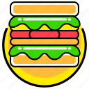 fast, food, french, junk, meal, restaurant, sandwich