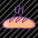 baguette, bread, bakery, toast