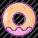 donut, dessert, cake, sweet
