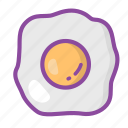 egg, chicken, protein, food