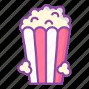 pop corn, snack, corn, movie