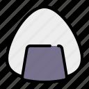 onigiri, rice ball, rice, food, fast food, japanese food