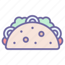 taco, food, fast, mexican, eat