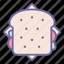 bread, food, sandwich, eat, breakfast