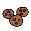 cookies, biscuits, bakery, sweets, dessert