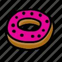 donut, bakery, dessert, sweet
