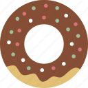 calorie, cuisine, dessert, donut, fast food, junk food, sweet icon