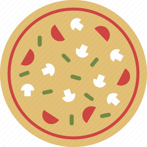 bread, calorie, cuisine, fast food, food, junk food, pizza icon