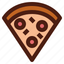 food, slice, italy, fast, pizza