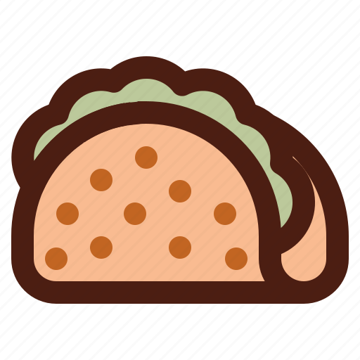 fast, food, mexican, mexico, taco icon
