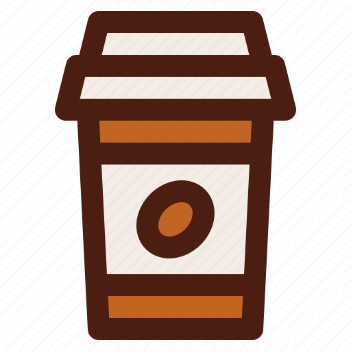 beverage, coffee, cup, drink, fast, food icon
