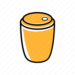 coffe, cup, food, snack, street, tea icon