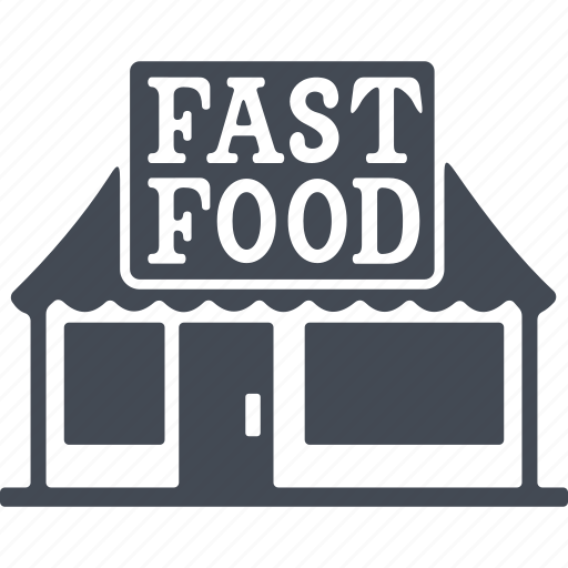 canteen, fast food, fastfood, food icon