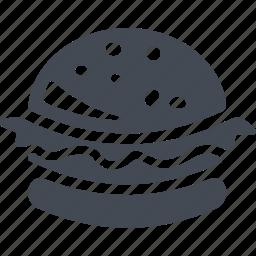 fast food, fastfood, food, hamburger icon