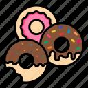 bakery, desert, donut, doughnut, fast, food