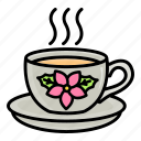 breakfast, coffee, cup, drink, mug, tea icon