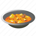 cooking, cuisine, curry, dish, indian, meal icon