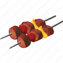 barbecue, bbq, food, grill, kebab, meat, skewers icon