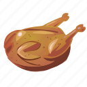 chicken, cooking, dinner, roast, thanksgiving, turkey icon