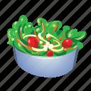 bowl, diet, healthy, organic, salad, vegetable, vegetarian