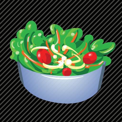 Bowl, diet, healthy, organic, salad, vegetable, vegetarian icon - Download on Iconfinder