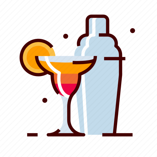 alcohol, bar, cocktail, drinks, shaker icon