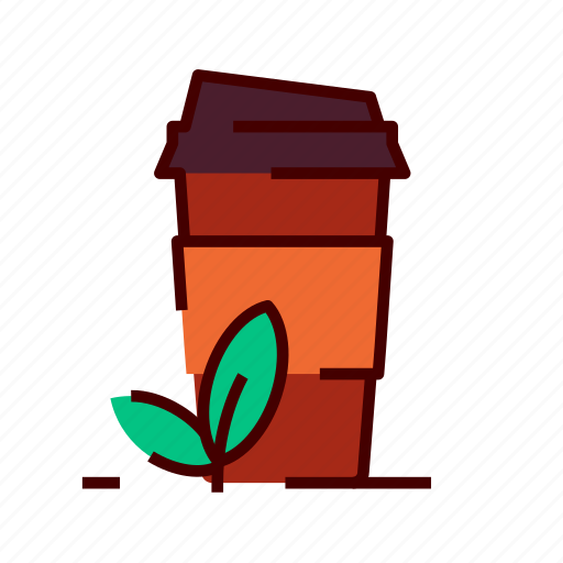 cup, herbal, tea icon