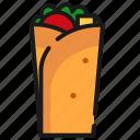 fast food, food, kebab icon