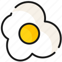 egg, fast food, food, meal icon