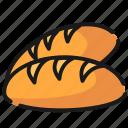 bread, fast food, food icon