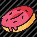 donut, doughnut, fast food, food
