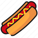 fast food, food, hot dog, sandwich icon