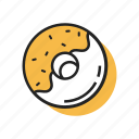 cake, delicious, dessert, donut, donuts, doughnut, sweet icon