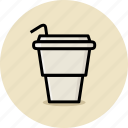 coffee, cup, fast food, junk food icon