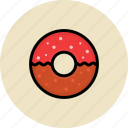 donut, fast food, junk food, sweets icon