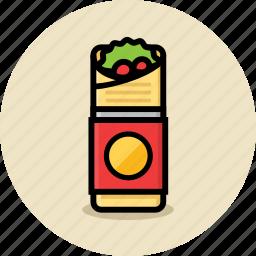 fast food, junk food, kebab icon