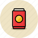can, cola, fast food, junk food, soda icon