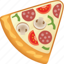 fastfood, food, pizza icon