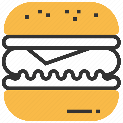 burger, fastfood, food, hamburger, meal icon