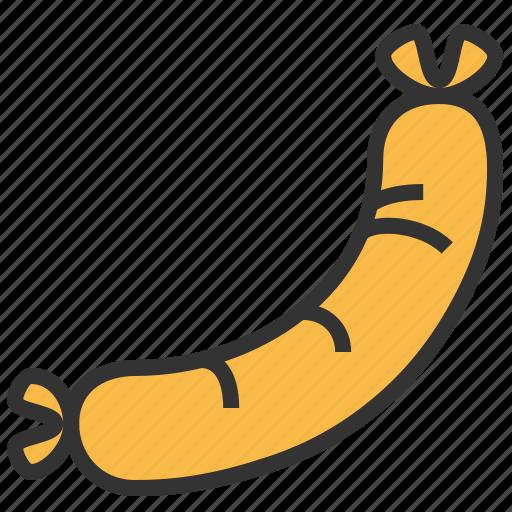 fastfood, food, kitchen, sausage icon