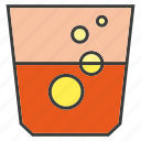 beverage, drinks, glass, soda, water icon