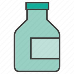 bottle, drinks, water icon