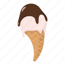 cold, cream, dessert, food, ice, ice cream, sweets icon