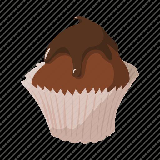 cake, cupcake, cute, dessert, food, icing, sweet icon
