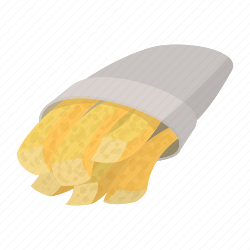 fast, fat, food, french, fries, meal, snack icon
