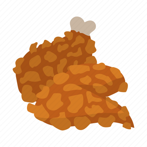 chicken, drawing, fastfood, food, fried, leg, meal icon