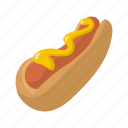 bread, dog, fast, fastfood, food, hot, mustard
