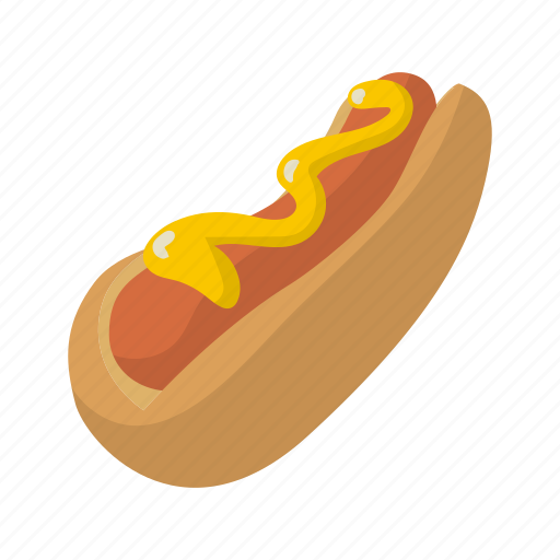 bread, dog, fast, fastfood, food, hot, mustard icon