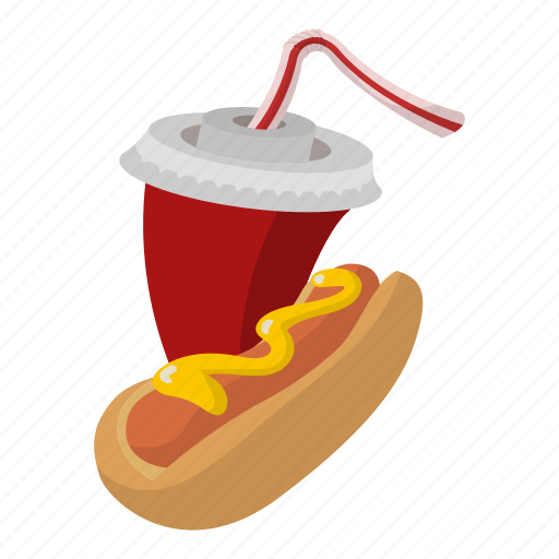 bread, dog, fast, fastfood, food, hot, mustard icon