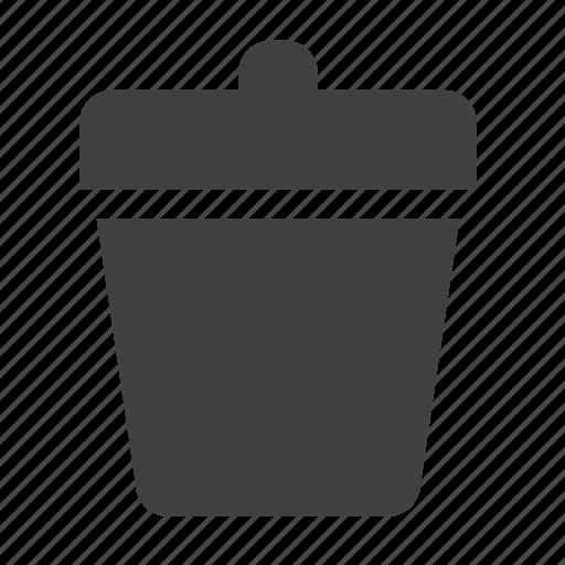 delete, minus, recycle, remove, trash, trashbox icon